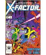 X-Factor Comic Book #1 Marvel Comics 1986 VERY FINE+ NEW UNREAD - $13.54