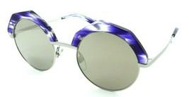 Alain Mikli Sunglasses A04006 005/6G 49-22-135 Sitelle Paint Blue / Brow... - $85.36