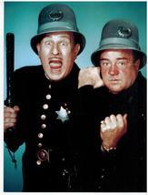 Abbott and Costello Cops Vintage 11X14 Color Comedy TV Memorabilia Photo - $12.95