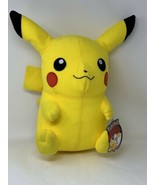 "Toy Factory Licensed Pokemon Pikachu Plush 13"" Hard Foam Filled Stuffed ... - $14.85"
