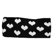 The Heart Knitting Headbands Wide Headband for Sports or Fashion