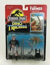 "Sgt T Rex Turner Jurassic Park Dino Tracker 4"" Figure Kenner Original 90... - $42.72"