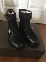 NIB 100% AUTH Gucci Men's Black Suede biker boots Shoes $1098 368430 - $498.00