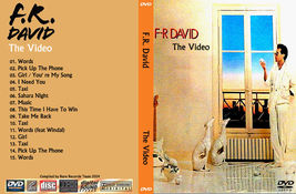 F.R.DAVID The Video's Bootleg DVD Rare Hard To Find - $22.99