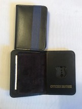 NY Police Officer Thin Blue Line Officer Brother Mini Shield  ID Wallet - 2018 - $18.32