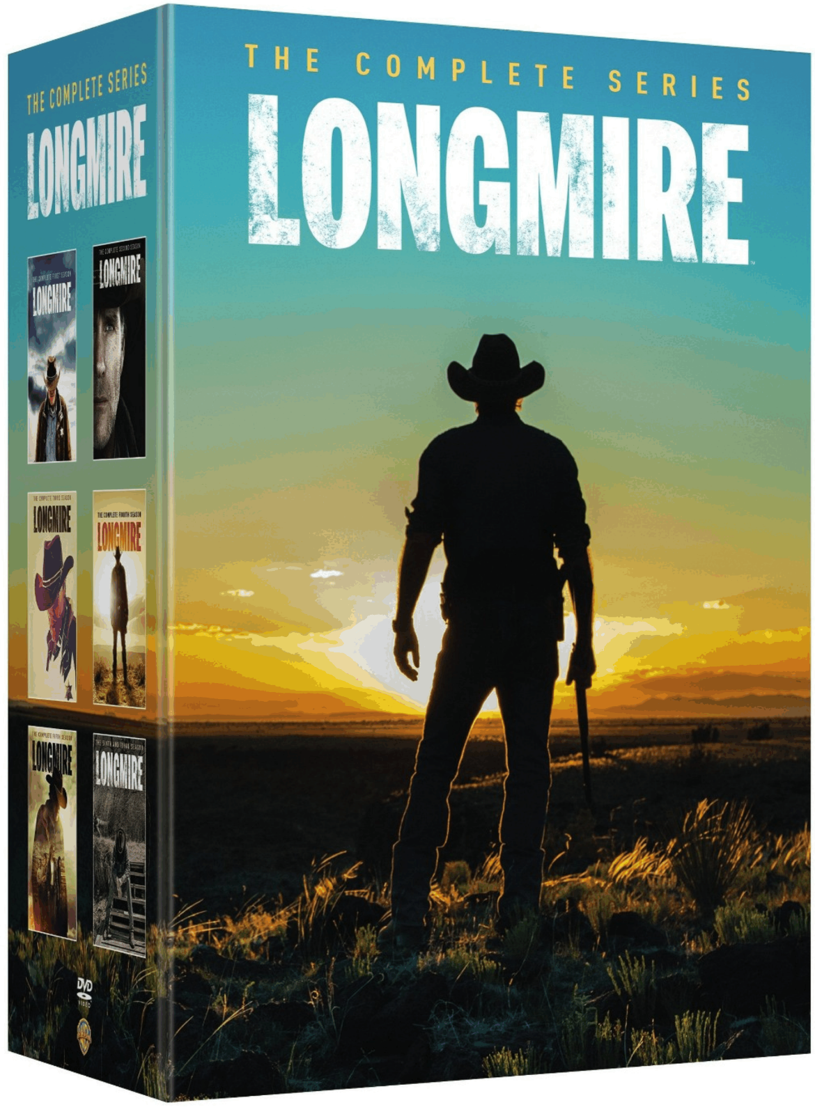 LONGMIRE Complete Series Collection Seasons 1-6 DVD Set [New]