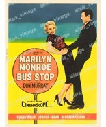 Bus Stop 1956 Vintage Movie Poster Reprint 10 - $5.95+