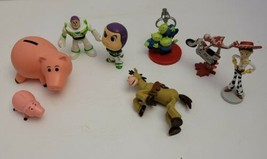 Toy Story PVC Plastic Figures Buzz Lightyear Horse Alien Pig Small Disne... - $7.69
