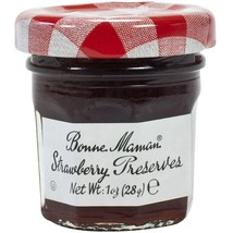 Bonne Maman Strawberry Preserves - Mini Jars - 15 count 1 oz mini jars - $11.27