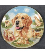 Loyal Companion Collector Plate For The Love Of Goldens Linda Picken Dogs - $21.95