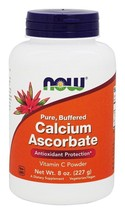Calcium Ascorbate 8 oz, Now Foods, 100% Pure Buffered Vitamin C - $14.99