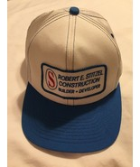 K Products Patch Trucker Snapback Hat White Blue Made In USA Constitutio... - $27.71