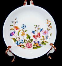 "Aynsley Cottage Garden Fine English Bone China 4-1/4"" pin jewelry dish S... - $9.89"