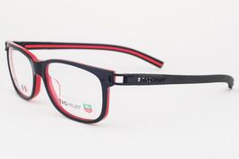 Tag Heuer 7607-001 Black Red Eyeglasses TH7607 1 56mm - $244.02