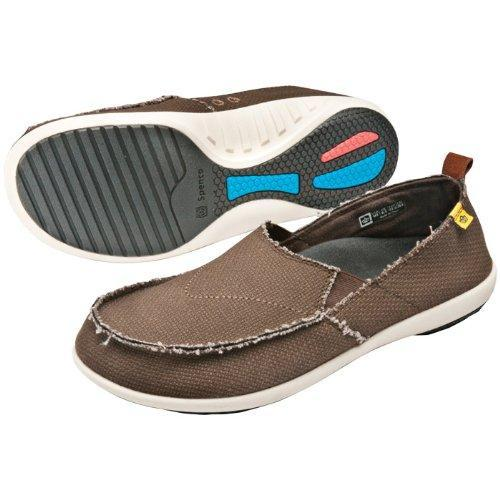 Spenco Men's Siesta Canvas  Orthotic Slide - Java