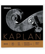 D'Addario Kaplan Bass Single A String K613 3/4H Scale Heavy Tension Inst... - $42.74