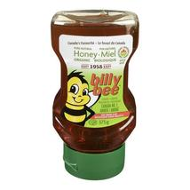 Billy Bee Liquid Organic Amber Honey 375g 4 jars Truly Canadian  - $79.99