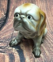 Vintage Hand Painted Dog Figurine Made in Japan... - $16.78