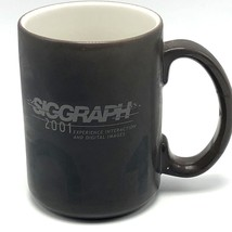 SIGGRAPH 2001 Magic Color Changing Coffee Mug Computer Graphics Ceramic NOS - $27.10