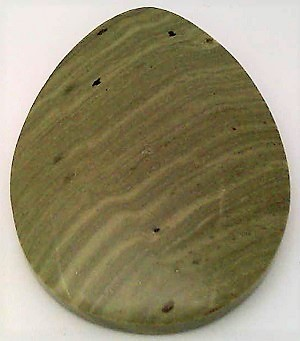 Primary image for Green Banded Jasper Cabochon 104