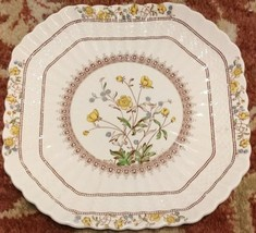 "Spode Buttercup Square 8.75"" Plate - Old Mark MINT (multiple available) - $41.13"