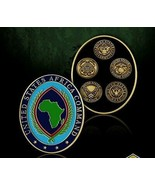 """AFRICOM UNITED STATES AFRICA COMMAND ALL BRANCHES 2"""" CHALLENGE COIN - $18.04"""