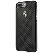 Ferrari Carbon Fiber Hard Case - Carbon Design case for iPhone 7 Plus (B... - $58.05