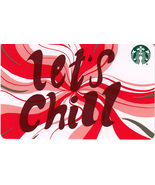 Starbucks 2018 Let's Chill Recycled Collectible Gift Card New No Value - $2.99