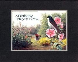 A Birthday Prayer for you 8 x 10 Inches Biblical/Religious Verses set in Double  - $11.14