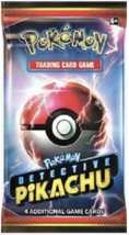Pokemon TCG Detective Pikachu 1 Booster Pack Single Booster Factory Sealed - $3.99