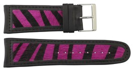 Moog Paris Pink Calf Horse Skin Band Replacement, Horse Skin Pattern, Pin Clas - $31.91