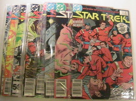 Lot of 11 STAR TREK DC Comics 1985 #10-#21 [c1] - $76.80