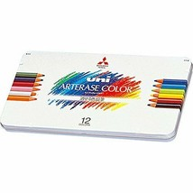Mitsubishi Pencil erasable colored pencil Uni Ah Therese color 12 colors... - $28.72
