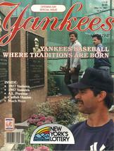May 14, 1987 New York Yankees Magazine Don Mattingly Catfish Opening Day... - $4.94