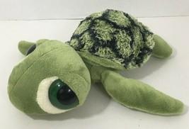 Aurora Sea Turtle Plush big green eyes stuffed animal - $8.90