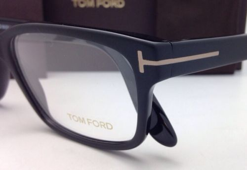 8859c6cbbb Brand New TOM FORD Eyeglasses TF 5313 002 55-17 Matte to Shiny Black Fade