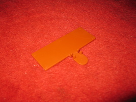 1993 - 13 Dead End Drive Board Game Piece: Part 'U' Bookcase Flipper - $3.00