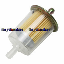 8MM Universal Motorcycle Frame Inline Oil Gasoline Fuel Filter - $9.88