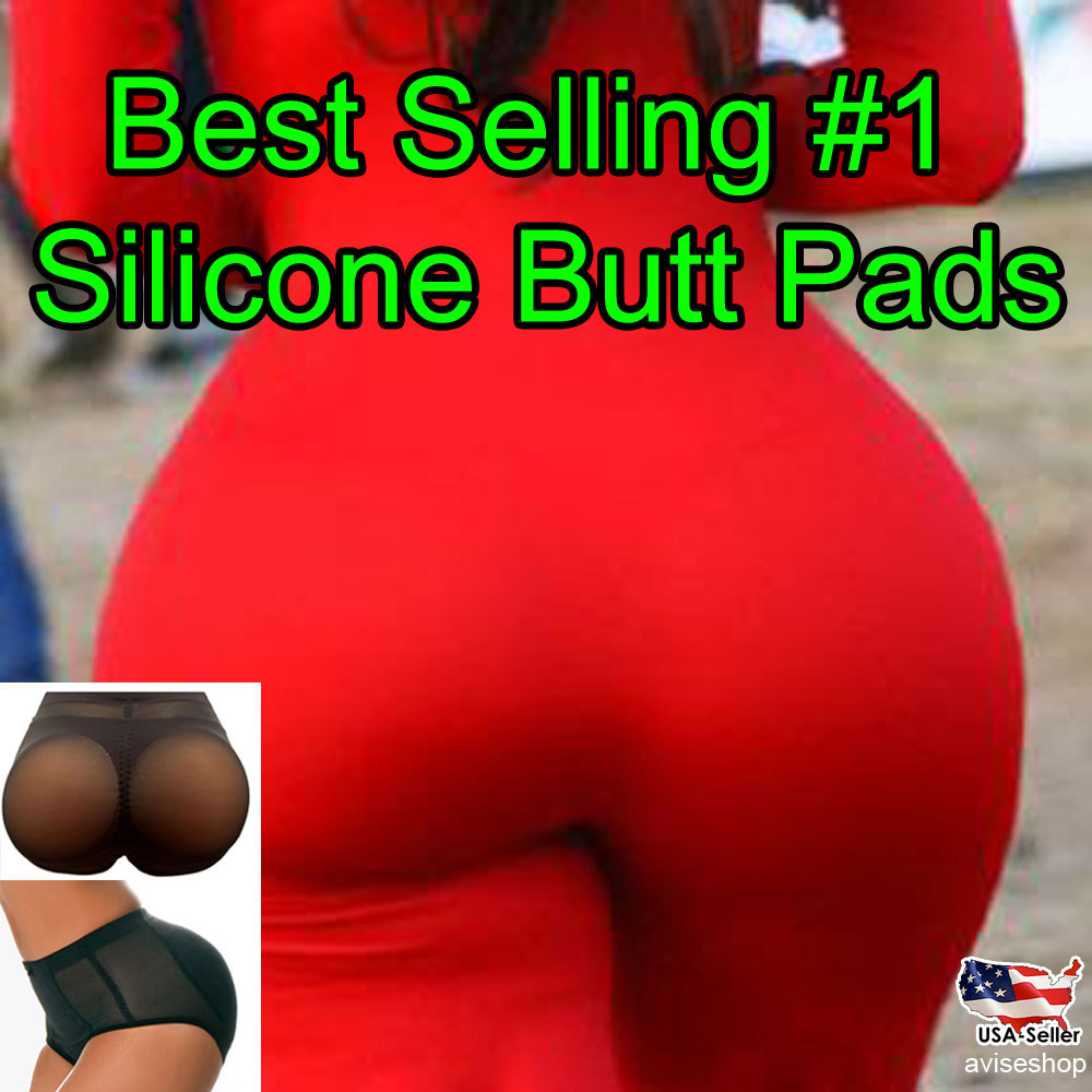 Hip up Enhancer BOOTY PADDED Pads Panties Underwear Brief Silicone Pads Big Butt - $28.49