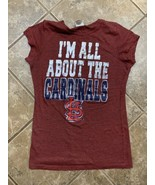 MLB All About St Louis Cardinals Womens L T Shirt Campus Lifestyle Cap S... - $18.70