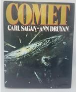 Comet - Carl Sagan & Ann Druyan - First 1st Edition - Hardcover DJ 1985 - $14.95