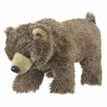 Wild and Wonderful Grizzly Bear Cub Plush Stuffed Animal From Wildlife A... - $13.67