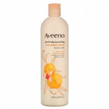 4 Pack Aveeno Positively Nourishing Antioxidant Infused Body Wash White ... - $38.21