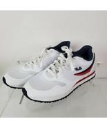 FILA Womens Forerunner Sport Tennis Sneakers White Red Blue 5CM00153-125 Size 9  - $49.48