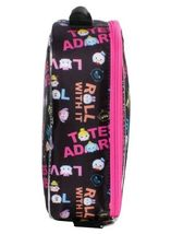 "NEW Disney Pixar Awesome 9.5"" Black Tsum Tsum Lunch Pail Box Bag Container NWT image 3"