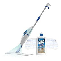 Quick Shine Premium Spray Mop Kit With 16 oz. Multi-Surface Cleaner and Mop Pad