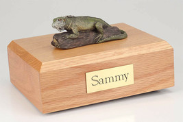 Iguana Pet Figurine Wildlife Cremation Urn Available in 3 Diff. Colors &... - $169.99+