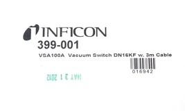 NIB INFICON 399-001 VAS100A VACUUM SWITCH DN16KF W. 3M CABLE 399001