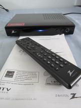 Zenith Digital DTV TV Tuner Converter Box Model DTT901 w/ Remote & Manual - $38.63