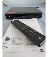 Zenith Digital DTV TV Tuner Converter Box Model DTT901 w/ Remote & Manual - $38.63